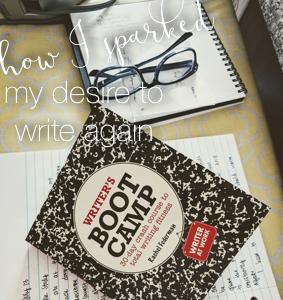desire to write.001