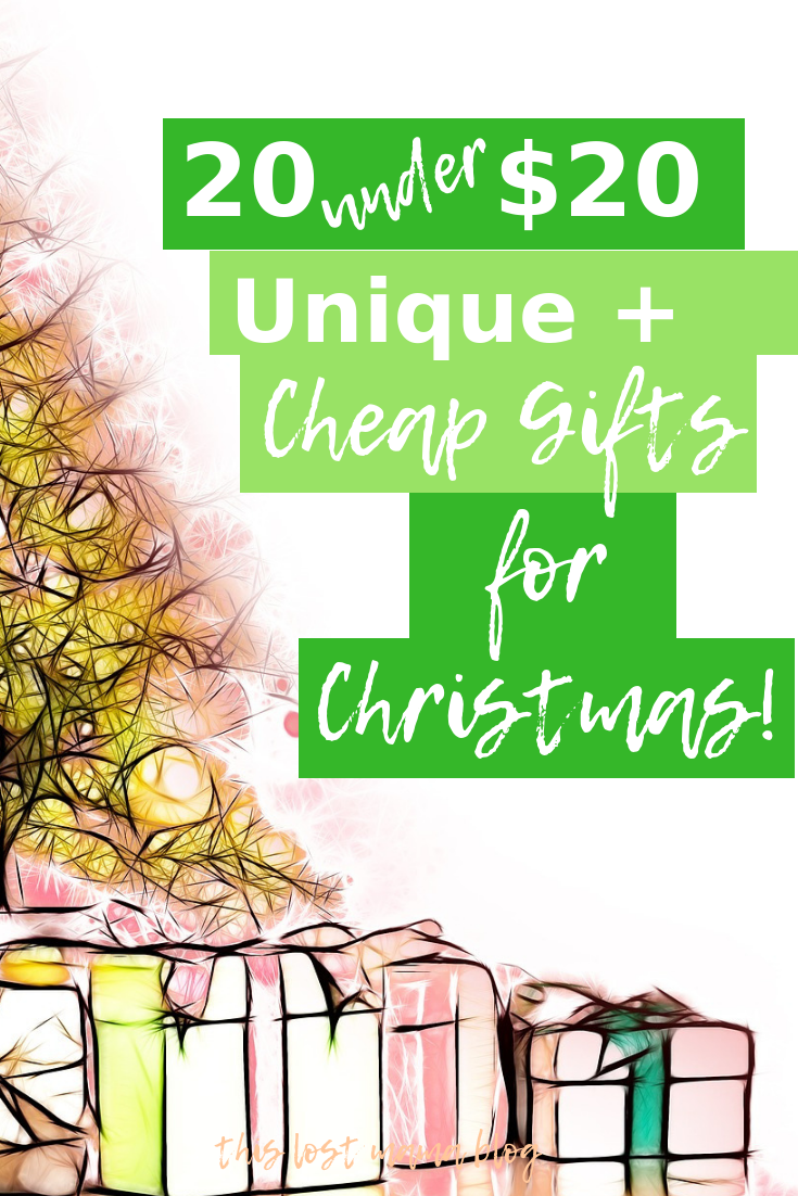 20 gifts under 20 dollars for christmas